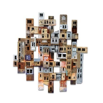 Graffmatt Mic-mac urbain 100 x 100 cm