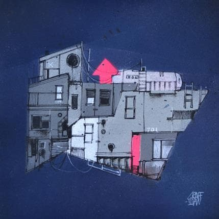 Graffmatt Balade nocturne 19 x 19 cm