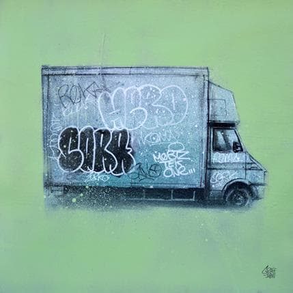 Graffmatt Vandal Art 36 x 36 cm