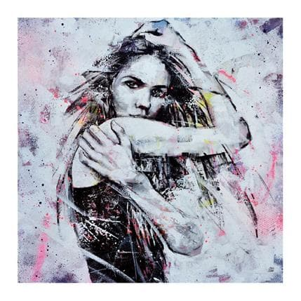Graffmatt Thunder and lightnin 70 x 70 cm