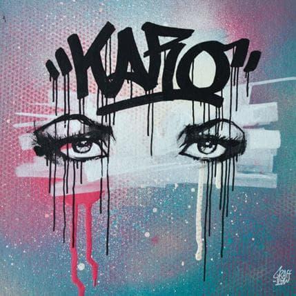 Graffmatt Graffiti obsession 25 x 25 cm