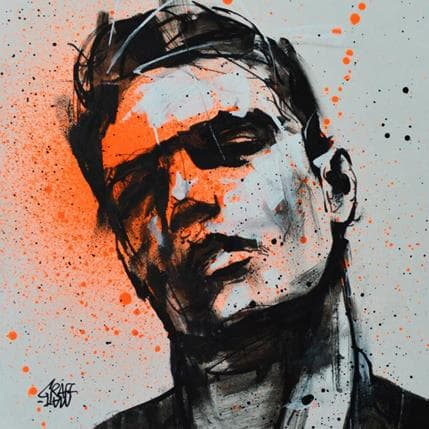 Graffmatt The man in shadow 19 x 19 cm