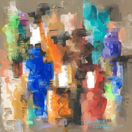 Niankoye Lama Couleurs Tropicales 3 19 x 19 cm