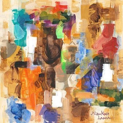 Niankoye Lama Couleurs Tropicales 4 19 x 19 cm