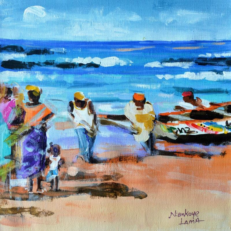 L'arrivée des pêcheurs