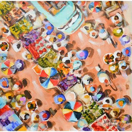 Niankoye Lama Place du marché 36 x 36 cm