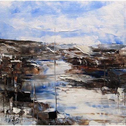 Albert Le Diuzet Composition 27 19 x 19 cm
