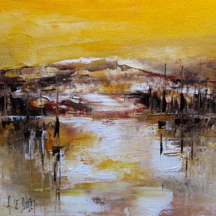 Albert Le Diuzet Composition 29 25 x 25 cm