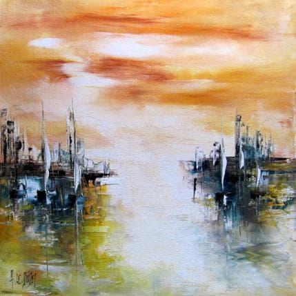Albert Le Diuzet Composition 25 36 x 36 cm