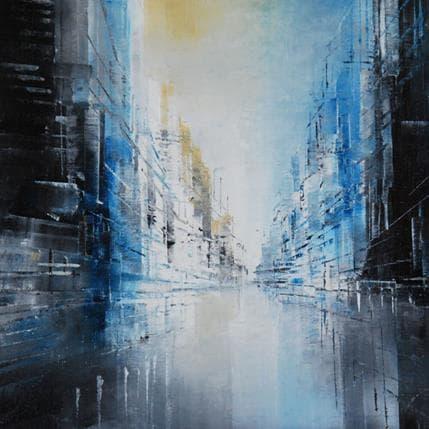 Emmanuelle Levesque City of glass 25 x 25 cm