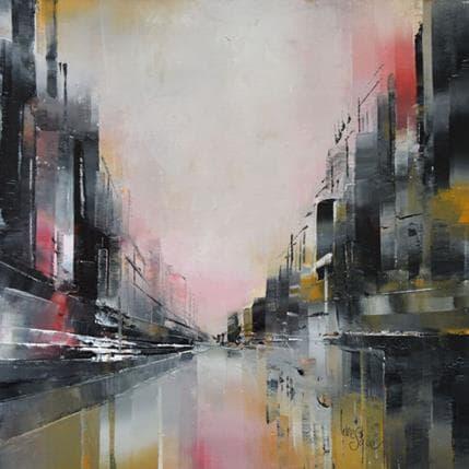 Emmanuelle Levesque L'eau rose 25 x 25 cm