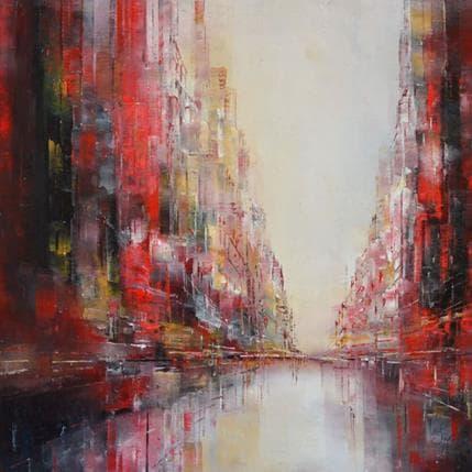Emmanuelle Levesque Strange paradise 36 x 36 cm