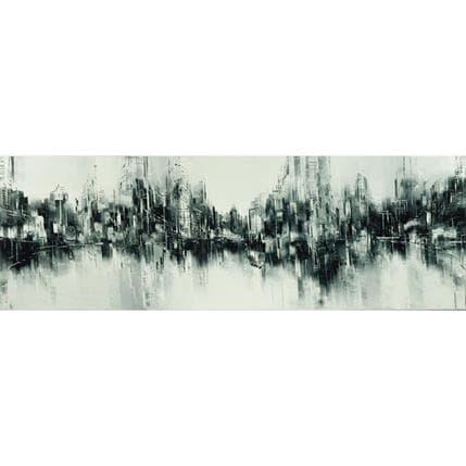 Emmanuelle Levesque Partition urbaine 120 x 40 cm