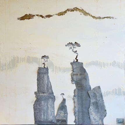 François-Régis Lemonnier Au petit matin 100 x 100 cm