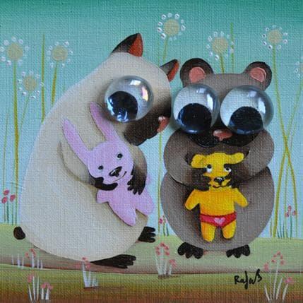 Raphaële Lennoz Hamsters 13 x 13 cm