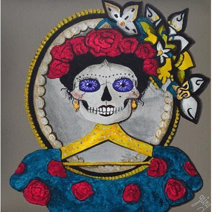 Geiry Le miroir de Frida 25 x 25 cm