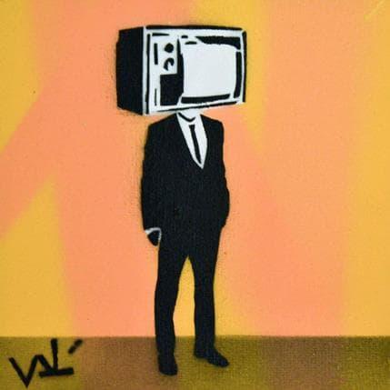 Valérian Lenud TV trader 13 x 13 cm