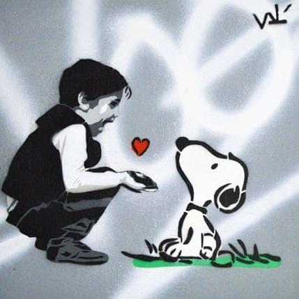 Valérian Lenud My friend Snoopy 19 x 19 cm