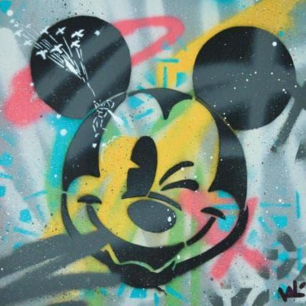 Valérian Lenud Love Mickey 25 x 25 cm