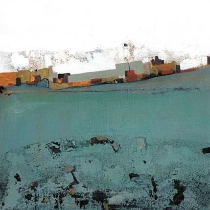 Betina Levin Verde agua 25 x 25 cm