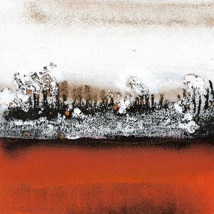 Levin Betina Bosque nevado 25 x 25 cm