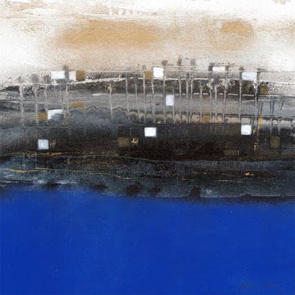 Levin Betina Noche y rio 36 x 36 cm