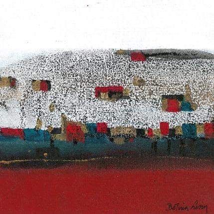 Betina Levin La colina 19 x 19 cm