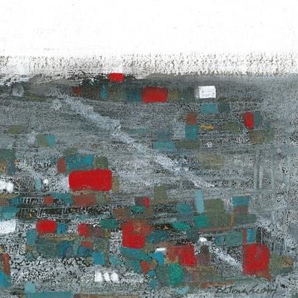Betina Levin La colina de colores 19 x 19 cm