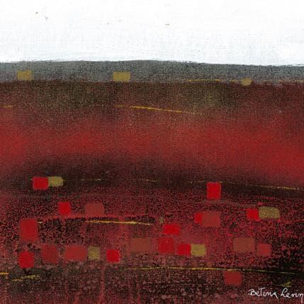 Levin Betina Rocas de rubi 25 x 25 cm
