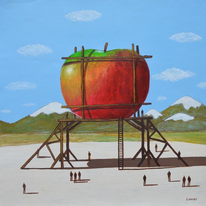Pomme en construction