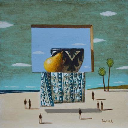 Pascal Lionnet Fenêtre 19 x 19 cm
