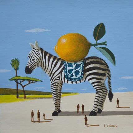 Pascal Lionnet Zèbre 19 x 19 cm