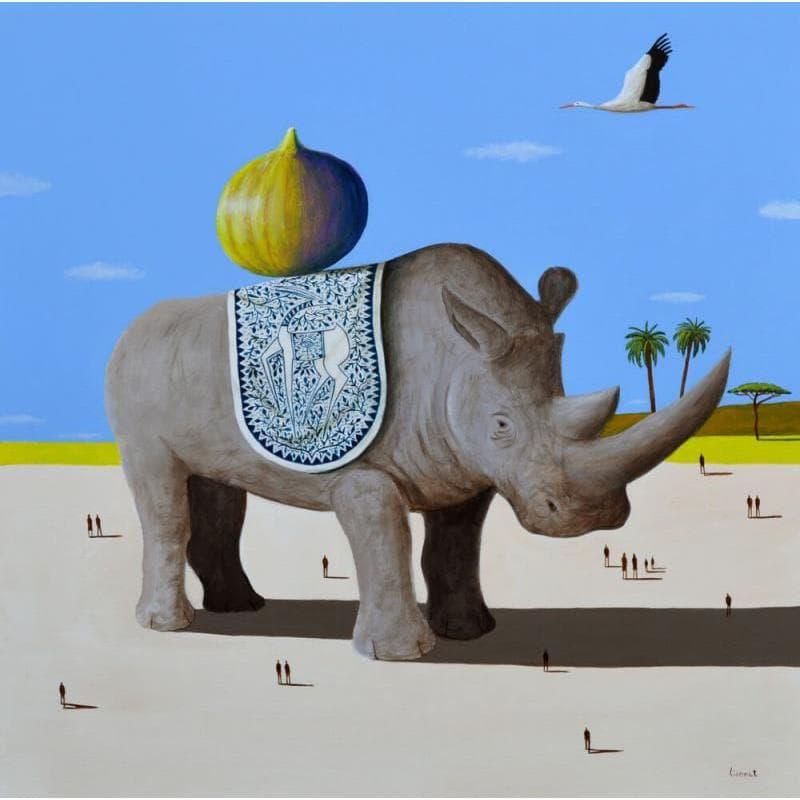 Rhinocéros et figue