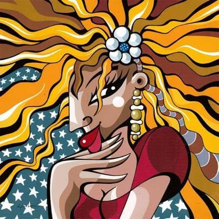 Alfredo Lopez Brochette à l'américaine 36 x 36 cm