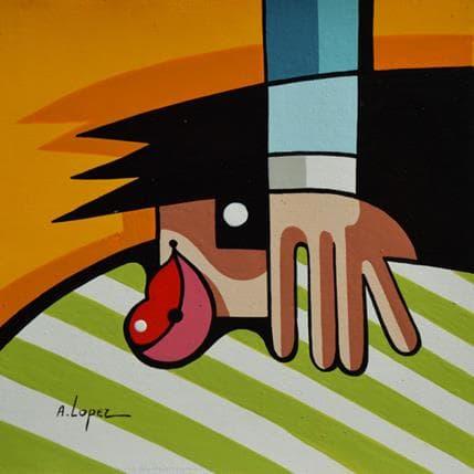 Alfredo Lopez Parent protecteur 13 x 13 cm