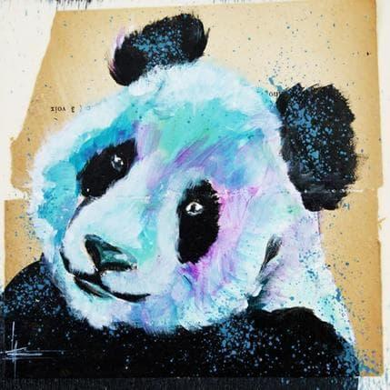 Alice Locoge Amour de panda 13 x 13 cm