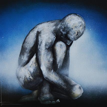 Alice Locoge Réflexion blanche 36 x 36 cm