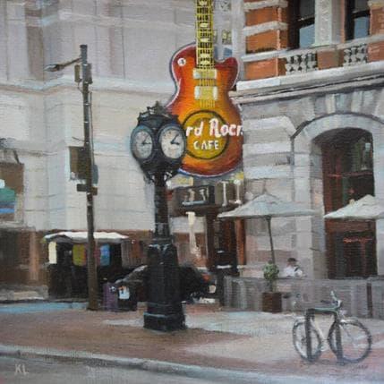 Katie Lokotska Hard Rock Café 19 x 19 cm