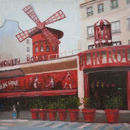 Katie Lokotska Moulin Rouge 19 x 19 cm