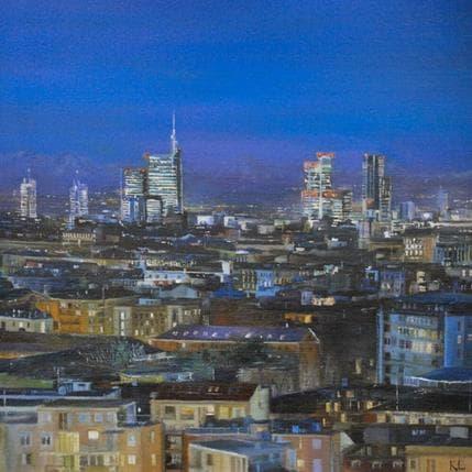 Katie Lokotska Panorama Milano 19 x 19 cm