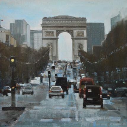 Katie Lokotska Arc de Triomphe 36 x 36 cm