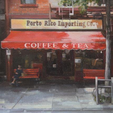 Katie Lokotska Coffee shop 19 x 19 cm