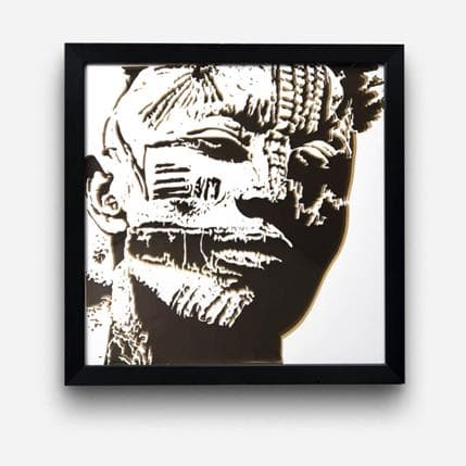 Valentine Louafi St 50 x 50 cm