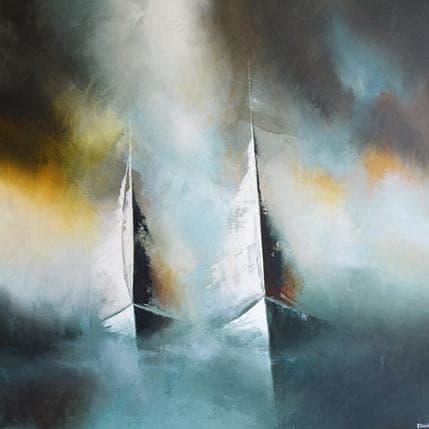 Jonas Lundh Togetherness 100 x 100 cm