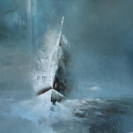 Jonas Lundh The big adventure 80 x 80 cm