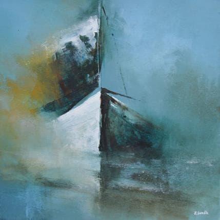 Jonas Lundh Sailing 25 x 25 cm