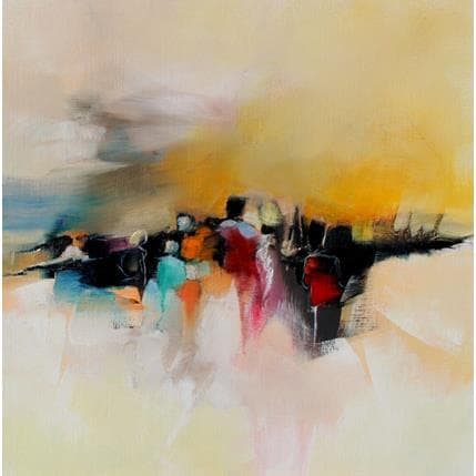 Alain Maupuy En chemin 36 x 36 cm