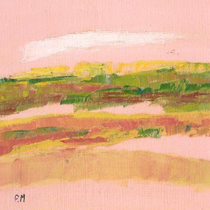 Frédérique Marteau Terre lointaine 13 x 13 cm