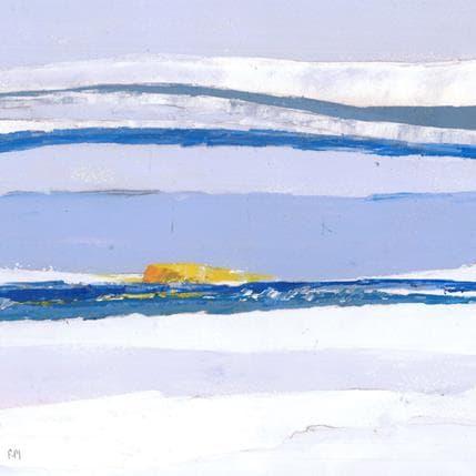 Frédérique Marteau Récif 25 x 25 cm