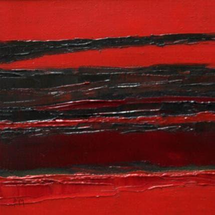 Frédérique Marteau Que du rouge 13 x 13 cm